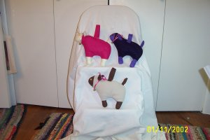 Child's Lamb Purse