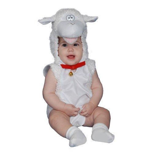 Baby Lamb Plush  Halloween Costume Infant 6-12 Months