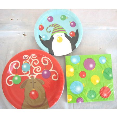 Winter Pals Christmas Ornament Lunch Napkins 20ct.