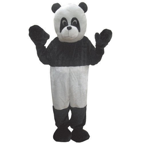 Plush Panda Bear Mascot Halloween Costume Size Adult
