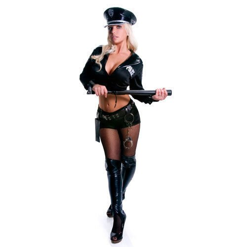 Adult Sexy Police Officer Costume (1pc) - Size Medium