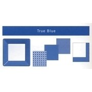 True Blue Dot Print Beverage Napkins 24ct.