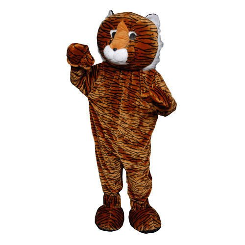 Plush Tiger Mascot Halloween Costume Size Adult NEW