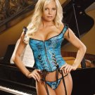Beautiful floral tapestry corset