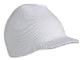 Bennie Hat Colors: wht/navy. Bennie hats men or wom