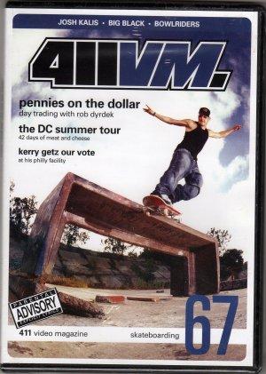 411 Skateboards ISSUE # 67 Skateboard DVD ROB DYRDEK