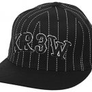 KREW Soda Hat Mens Fitted Blk sz: 71/4-75/8 NEW!