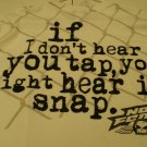 No Fear Snap It Men's T-shirt size: XL NEW w/ Tags