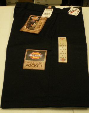Dickies Men's Shorts size: 34 NEW w/ Tags BLK
