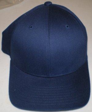 Plain Felx Fit Hat size: L/XL NEW w/ Tags Navy