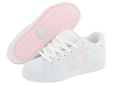 DVS Shoe Revival Splat W White/Pink Leather New In Box!