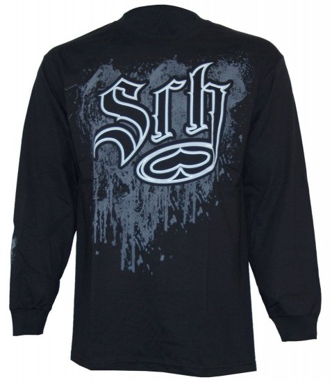 SRH Men's Respect Long sleeve shirt with front print. New w/Tags!