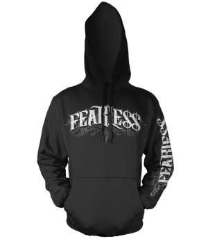 Fearless Mens Hoodie Char/Gray New w/ Tags!