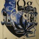 OG Genetics T-shirt Logo Wht/Blu/Blk New!