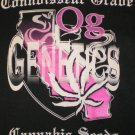 OG Genetics Girl T-shirt Logo Blk/Pink New!