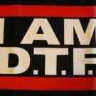I Am D.T.F Jersey Shore T-shirt New!