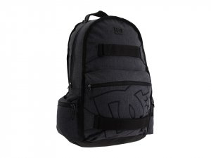 DC Stratford Skate Backpack Gray/Blk New w/ Tags!