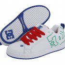 DC Court Graffik White/Royal/Athletic Red New In Box!