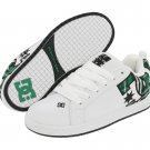 DC Court Graffik SE White/Green plaid New In Box!