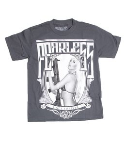 Fearless Heavy Duty Tee Charcoal New w/Tags! Size:XL