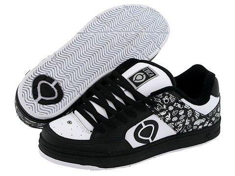Circa 205 El Men Shoes Black/White/Silver New In Box! Size: 8