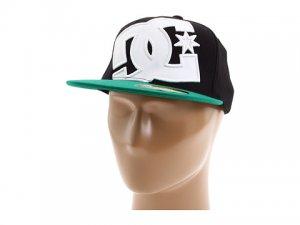 DC Ya Heard 2 Hat Blk/Kelly Green New w/ Tags!