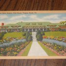 Postcard Princess Anne Country Club House Virginia Beach