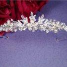 NEW! Winter Wonderland White and Silver Wedding Tiara!