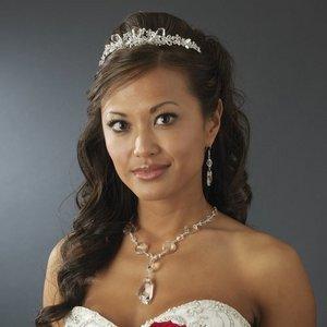 Bridal Wedding Jewelry Set with Swarovski Crystals