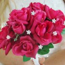 12 Sparkling Crystal Flower Bouquet Jewelry