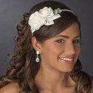 Diamante Rhinestone and Flower Side Accent Bridal Wedding Headband