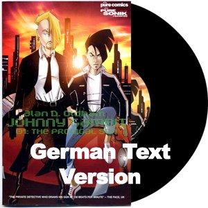 PURE18LP - Alan D. Oldham - Johnny Gambit 01 (LP+Comic Book) [GERMAN] PURE SONIK