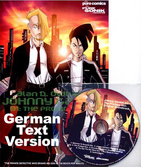 PURE18CD - Alan D. Oldham - Johnny Gambit 01 (CD+Comic Book) [GERMAN] PURE SONIK