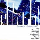 GEN027 - Various - Generator: Detroit 2003 (LP) GENERATOR RECORDS