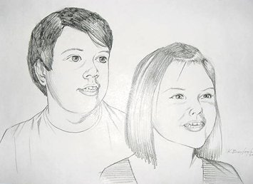 PERSONAL PORTRAIT SKETCH- EXAMPLE 5