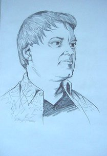 PERSONAL PORTRAIT SKETCH- EXAMPLE 6