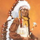 STANDING BEAR**ORIGINAL PORTRAIT PAINTING