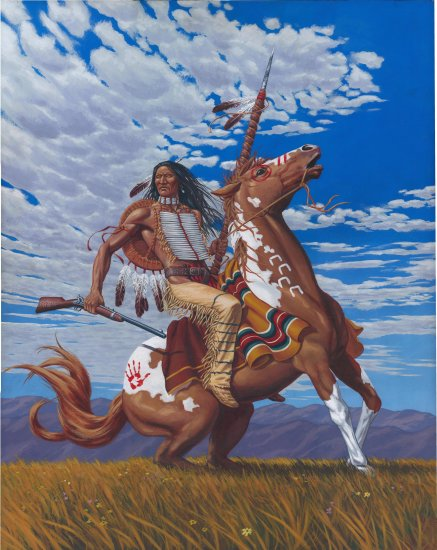 Crazy Horse***Limited Edition Print**Signed! #2/250