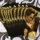 Twilight new moon Edward and Bella inspired MINI cards lot # CO
