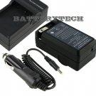 Battery Charger for Sanyo Xacti VPC-CG9 VPCCG9 VPC-CA65, DB-L20, DB-L20AU