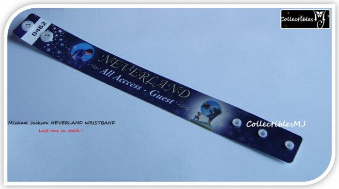 Michael Jackson Neverland Ranch Wristband Bracelet VERY RARE