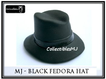 Hot 1/6 Michael Jackson HAT Fedora Toys Figure 12""