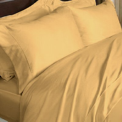 1000 TC  QUEEN EGYPTIAN COTTON  GOLD SOLID
