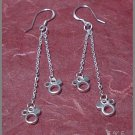 Silver 925 Mickey Mouse Earrings