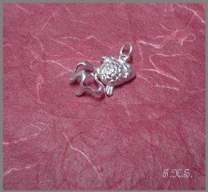 Silver 925 Goldfish Pendant