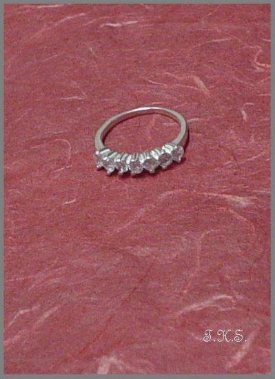 Silver 925 Elegance Ring With Swarovski Mini Stones