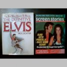 THE DEFINITIVE ELVIS by Paul Lichter + Bonus! (SCREEN STORIES 1973 Vintage Celebrity Magazine)
