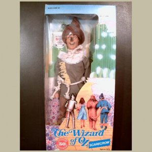 Th Wizard of Oz~SCARECROW Doll~by Multi Toys~MINT & HTF~50th Anniversary