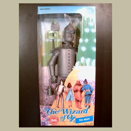 The Wizard of Oz~TINMAN Doll~by Multi Toys~MINT & HTF~50th Anniversary