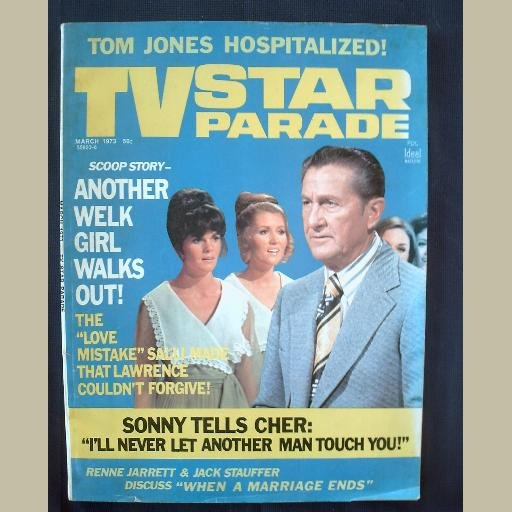 TV STAR PARADE~1973~v23/#6~VINTAGE CELEBRITY MAGAZINE~WELK & SALLI~Sonny~Cher~Tom Jones~Lucie Arnaz